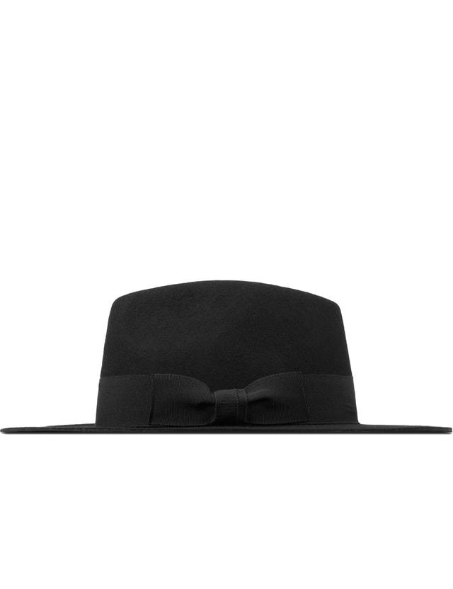 e55427d1dfc95 Soulland - Black Bille Fedora Hat