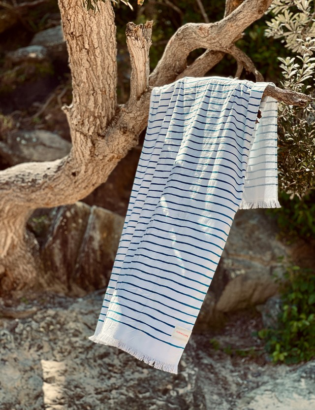 Sunnylife Turkish Towel – Nouveau Bleu Multicolor Life