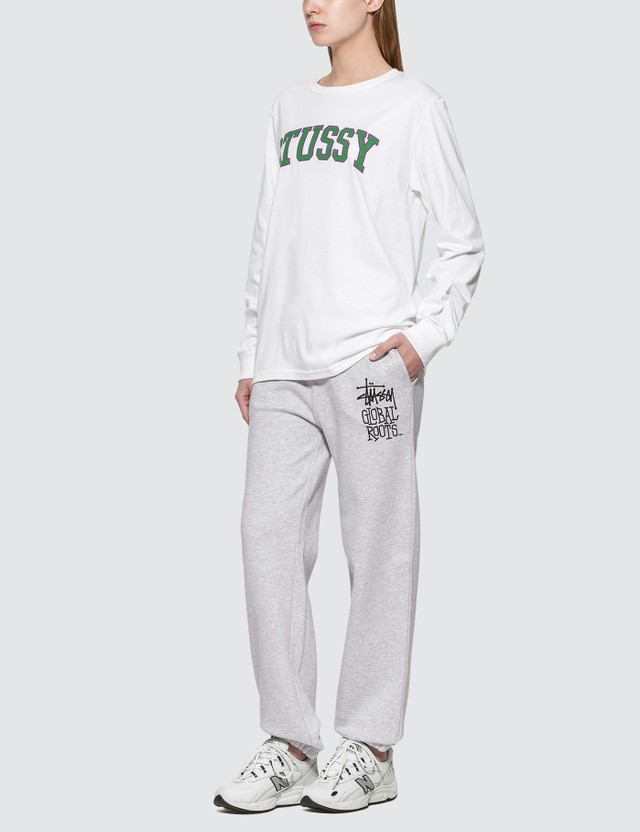 Stussy Collegiate Arc Longs Sleeve T-shrit