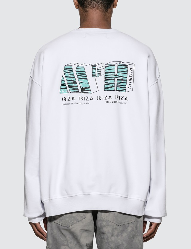 Misbhv The MBH Hotel & SPA Crewneck Sweatshirt