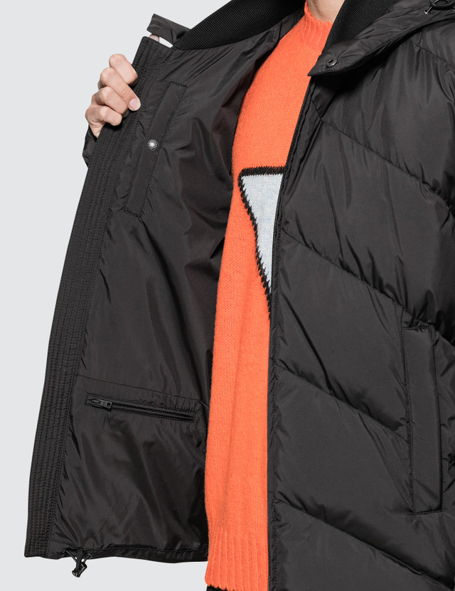 Prada Down Hooded Puffer Jacket