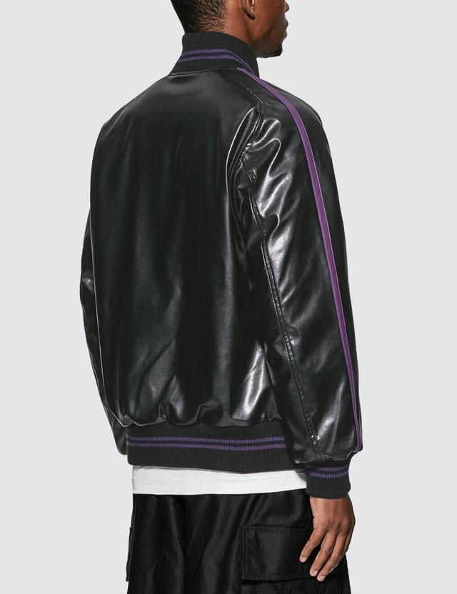 Needles Faux Leather Award Jacket
