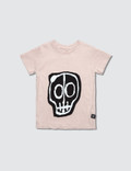 NUNUNU Skull Mask Patch S/S T-Shirt Picture