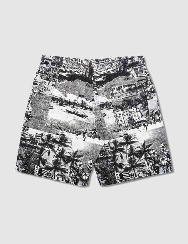 MSGM City Print Shorts