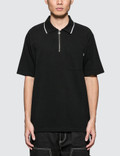 Stussy Lion Zip Pocket Polo Picture