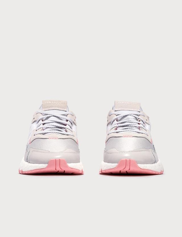Adidas Originals Nite Jogger Ftwr White/glory Pink/grey One Women