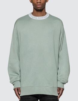 Acne Studios Logo Crewneck Sweatshirt