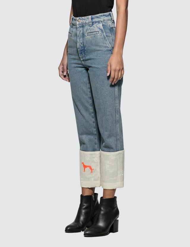 Loewe Fisherman Logos Jeans