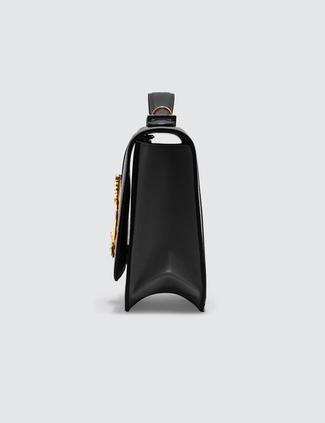 Versace Quilted Virtus Medium Shoulder Bag