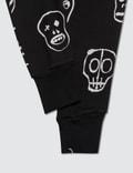 NUNUNU Skull Mask Baggy Pants