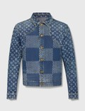 Louis Vuitton Louis Vuitton X Nigo Giant Damier Waves Denim Jacket Picutre