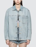 Alexander Wang.T Pajama Denim Shirt Picture