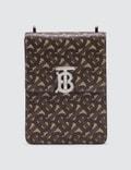 Burberry Monogram Print E-canvas Robin Bag Picutre