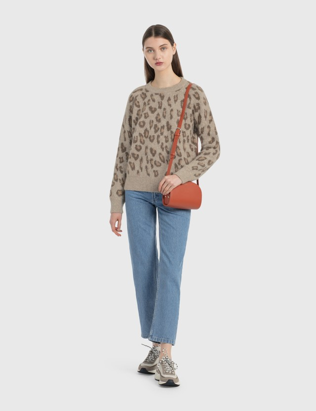A.P.C. Esther 스웨터 Cac Marron Glace Women