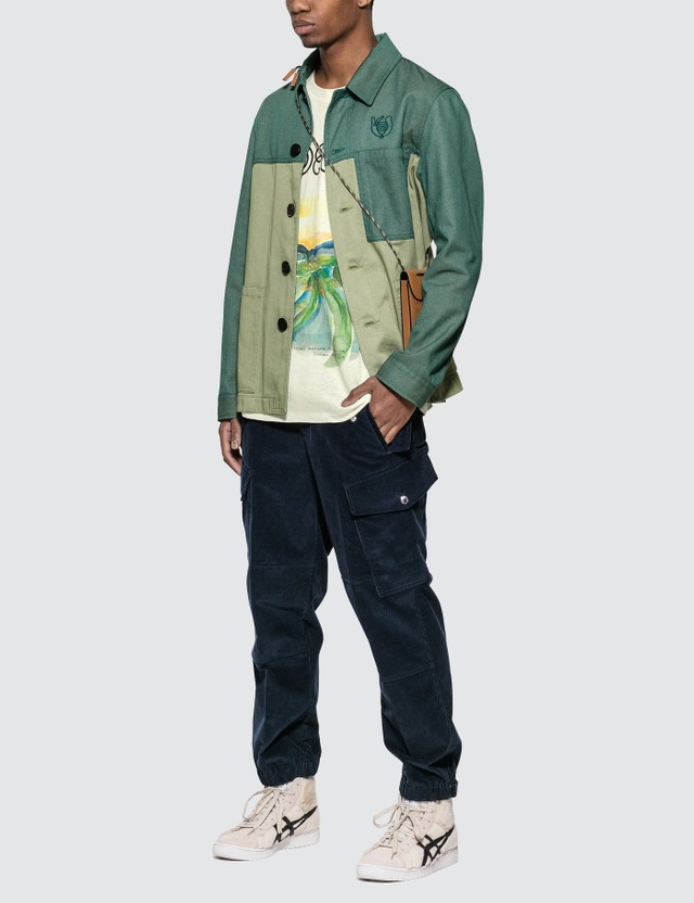 Loewe ELN Workwear Jacket Green Men