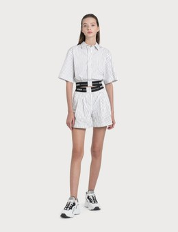 MSGM Striped Shorts