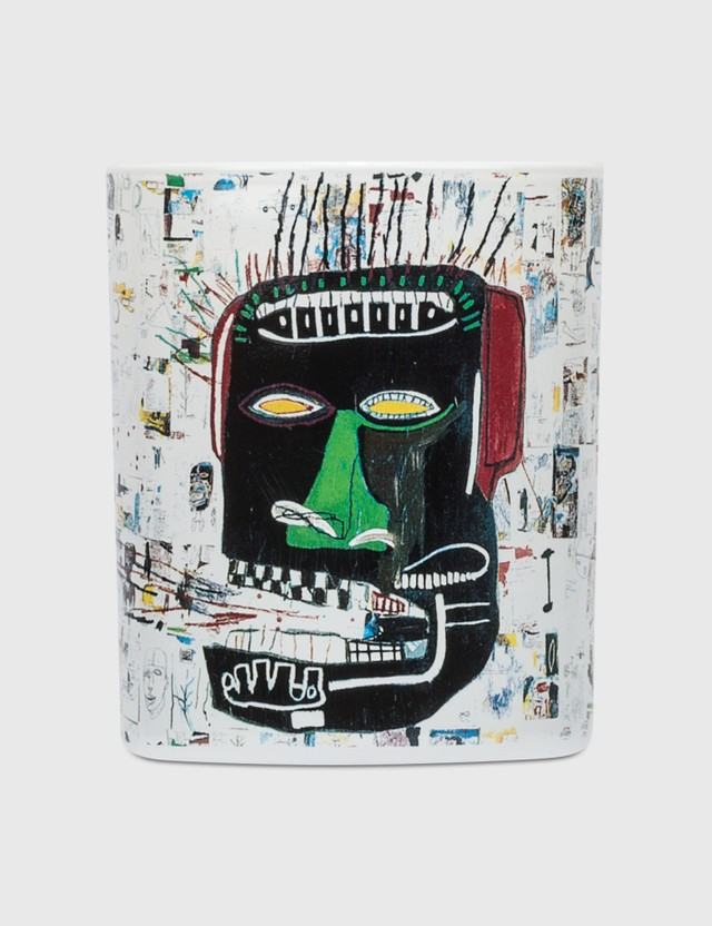 Ligne Blanche Jean Michel Basquiat Glenn Candle White Men
