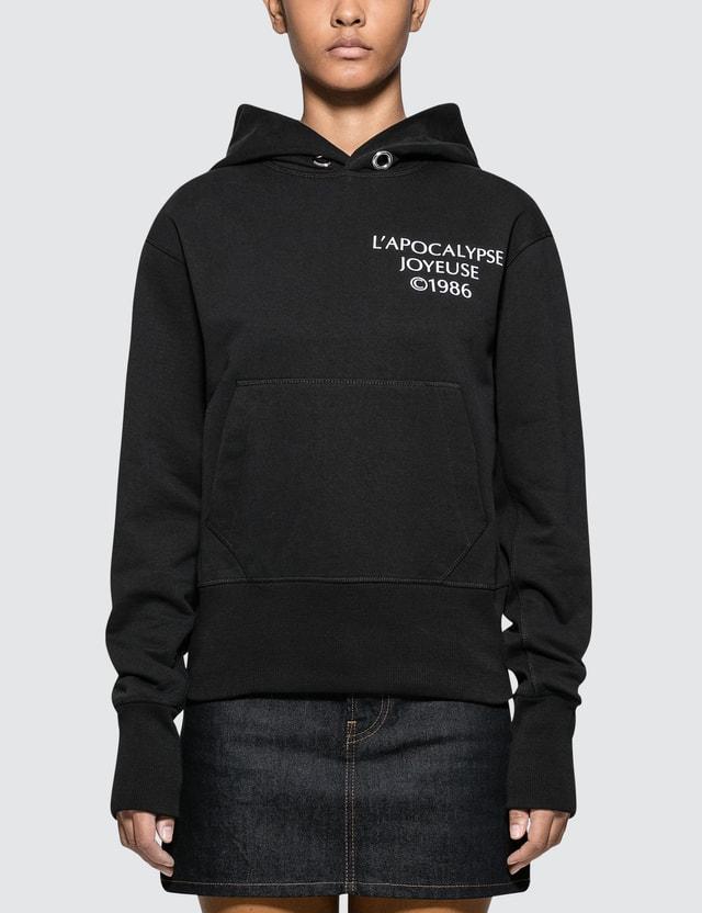 Helmut Lang Logo Hack Hoodie
