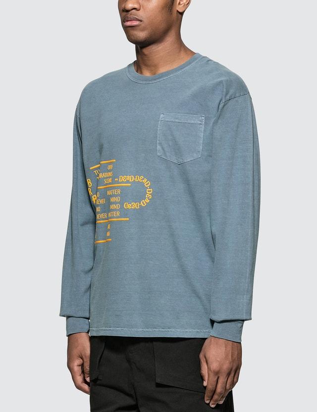 Brain Dead Ghost Long Sleeve T-Shirt