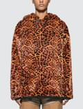 Aries Leopard Faux Fur Hoodie Picture