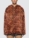 Aries Leopard Faux Fur Hoodie 사진