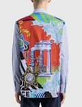 Versace Stripe Shirt Multicolor Men