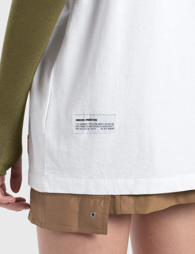 Heron Preston Heron Print T-Shirt =e23 Women
