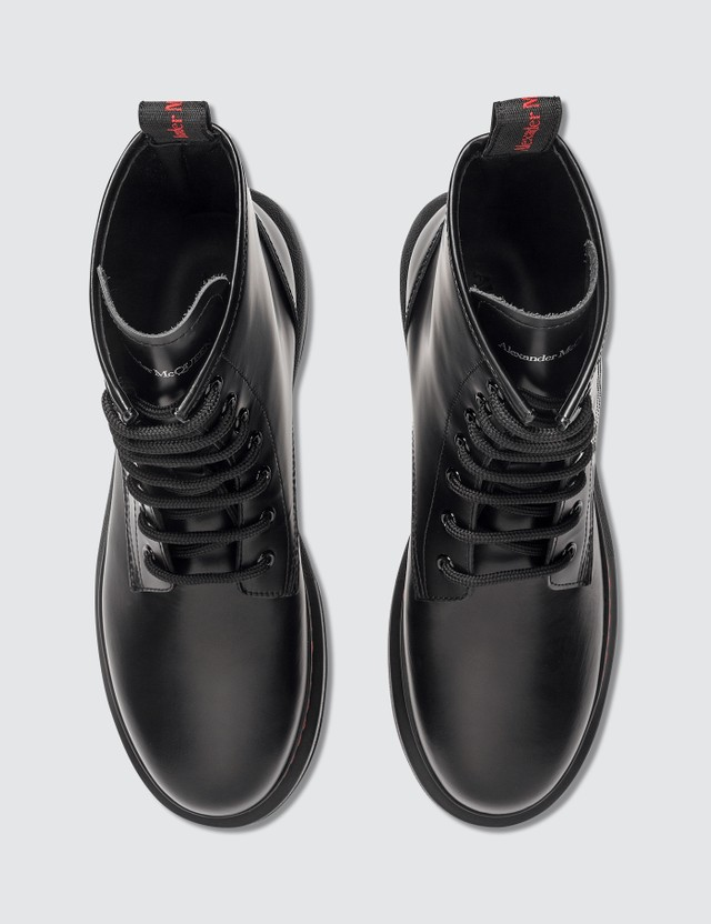 Alexander McQueen Hybrid Lace Up Boots