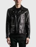 Saint Laurent Leather Biker Jacket 사진
