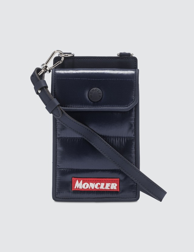 Moncler Padded Phone Case With Strap