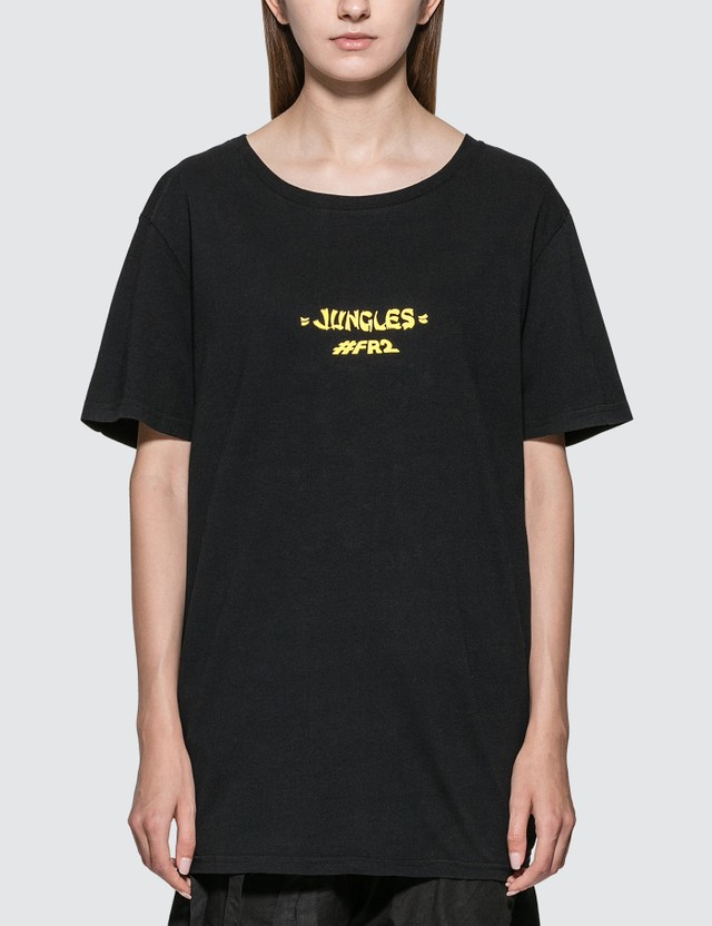 #FR2 80's Sphinx T-shirt Black Women