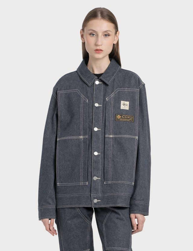 1017 ALYX 9SM 1017 ALYX 9SM x Stussy Denim Jacket Blue Women