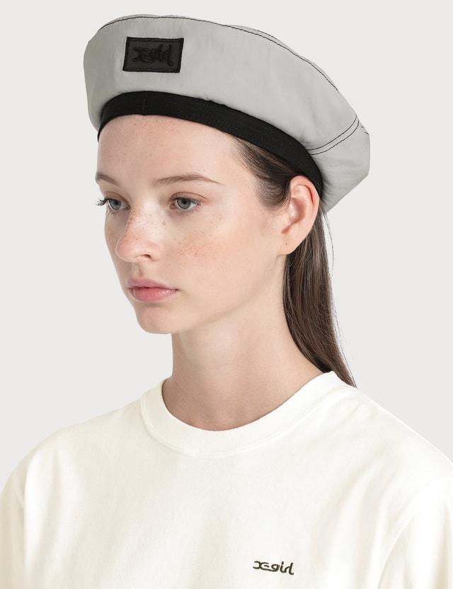X-Girl Worker Beret White Women