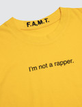 F.A.M.T. Kids' I'm Not A Rapper. Short-Sleeve T-Shirt