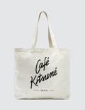 Maison Kitsune Cafe Kitsune Tote Bag Picutre