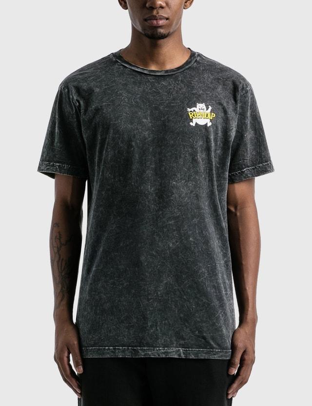 RIPNDIP Hocus Pocus 티셔츠 Black Mineral Wash Men