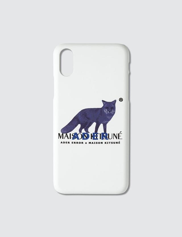Maison Kitsune Ader Error X Maison Kitsune Pixel Fox Iphone Xs Case