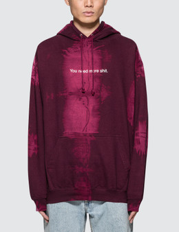 "Fuck Art, Make Tees ""You Need More Shit"" Bleach Hoodie"