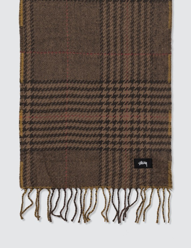 Stussy Double Faced Wool Scarf