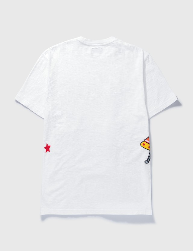 Billionaire Boys Club BB Battle Earth T-shirt White Men