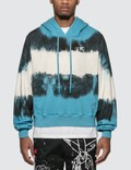 Off-White Arrows Tie Dye Contour Hoodie Picture