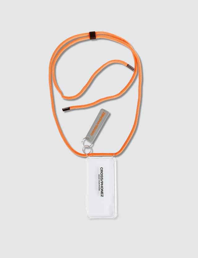 CROSS/PHONEZ Neon Orange Rope Crossphone Iphone Case