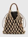 Prada Prada Fishnet Cord Mesh + Nylon Bag 사진