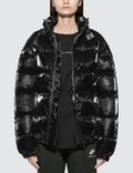 1017 ALYX 9SM Patent Puffer Jacket With Nylon Buckle Picture