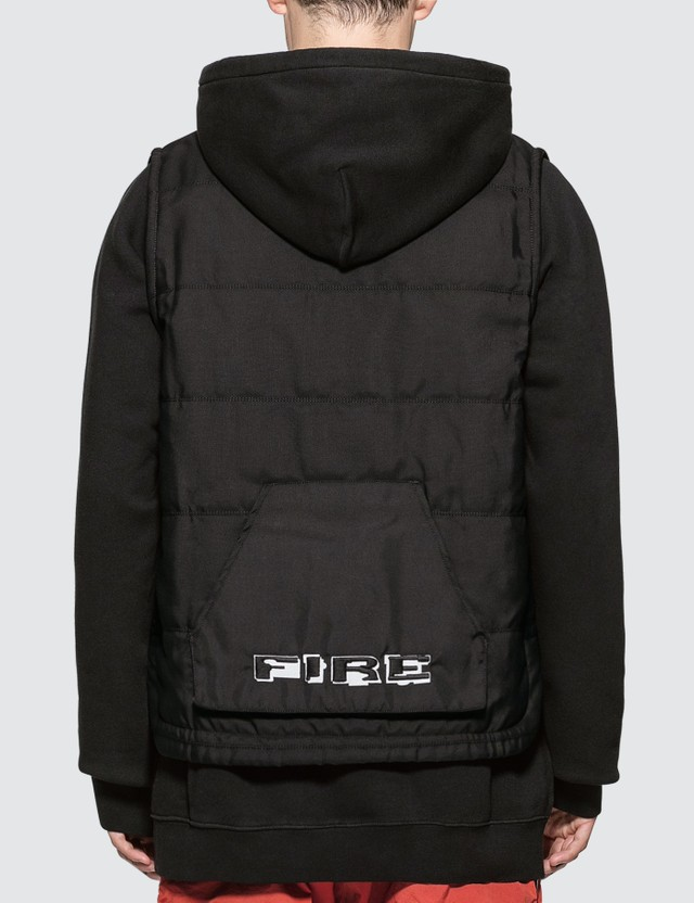 Heron Preston Multi Pockets Fire Vest