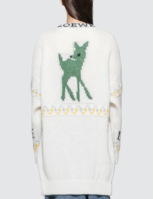 Loewe Deer Oversized Cardigan