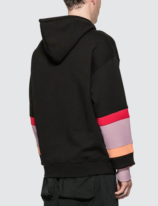 JW Anderson Color Block Sleeves Hoodie