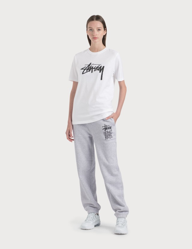 Stussy Stock T-Shirt White Women