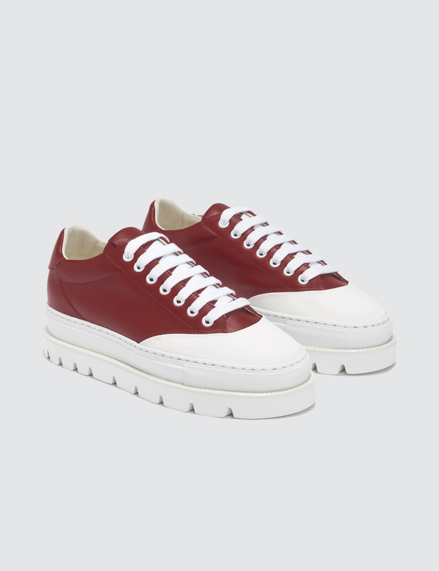 MM6 Maison Margiela Tractor Treat Platform Sneakers