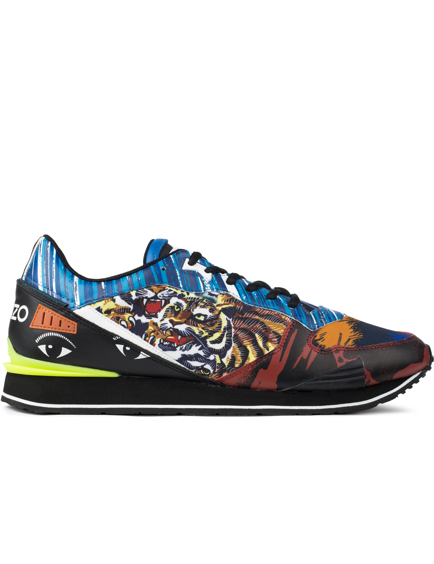 Kenzo - Running Crazy Tiger Sneakers   HBX